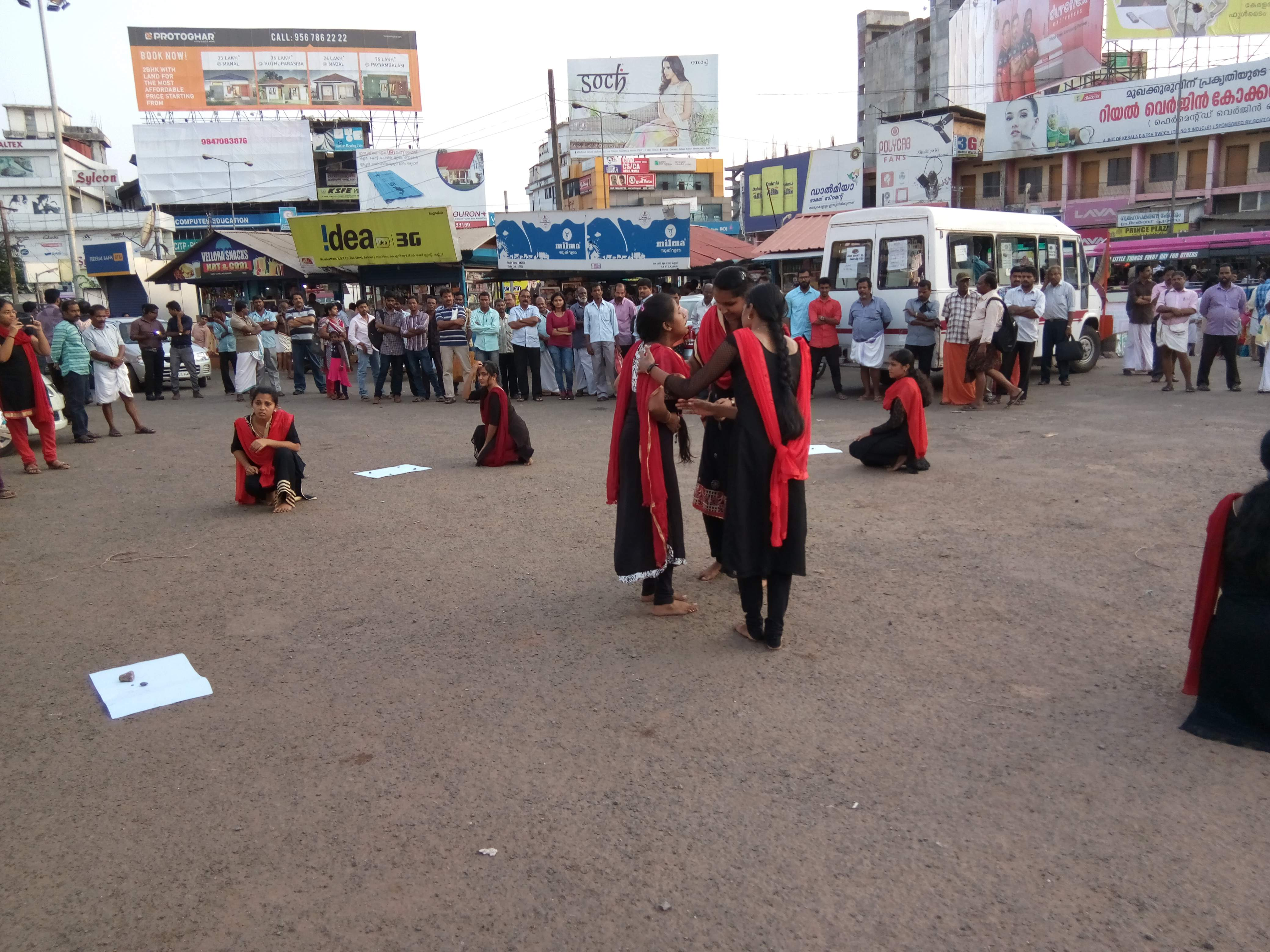 Conducted Street play on Cancer awareness